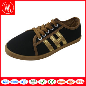 Men Lace-up Canvas Casual Shoes in Good Quality