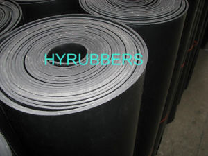 Rubber Sheet Roll with Fabric Inserted pictures & photos