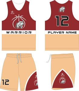 Healong Custom Latest Sportswear Red and Black Design Basketball Uniforms pictures & photos