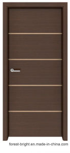 Shaker Style Solid Wood Melamine Door with Metal Strips pictures & photos