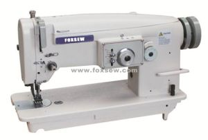 Flat Bed Top and Bottom Feed Zigzag Sewing Machine pictures & photos