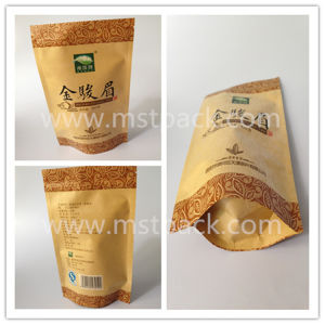 Kraft Paper Stand up Zipper Bag/ Doy Pouch pictures & photos