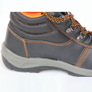 Safety Shoes (PU leahter+PU double color sole) . Work Shoes pictures & photos