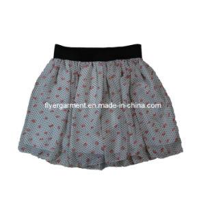 Lady Fashion &Knitted Chiffon Dress Skirt (MDC-025)
