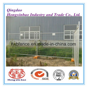 Galvanized Chain Link Wire Mesh Fence Temporary Fence for Construction pictures & photos