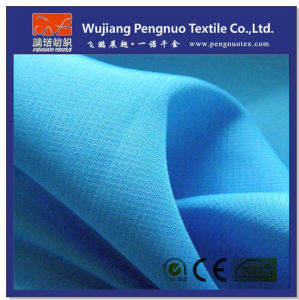 300t Roman Grid Polyester Pongee Clothing Fabric