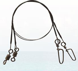 Titanium Fishing Leaders - Rolling Swivel and Coastlock Snap pictures & photos