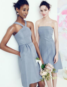 Sweetheart Short Chiffon Sleeveless Patterns for Bridesmaids Dresses (MI 3505) pictures & photos