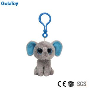 Custom Plush Elephant Keychain Soft Toy Plush Elephant Keyring pictures & photos