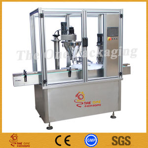 Powder Filling Stoppering and Capping Machine pictures & photos