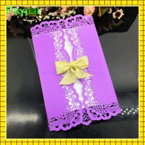 Romantic Beautiful Wedding Invitation Cards (GC-WD8808) pictures & photos