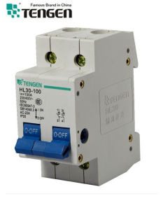 Circuit Breaker Hl30-100/2p Isolating Switch pictures & photos