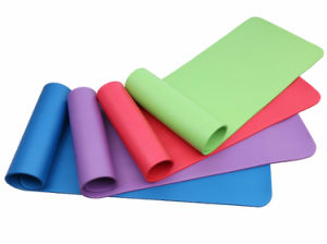 NBR Foam Gym Fitness Pilates Exercise Mats with Ce, En71, RoHS, Rach Certificates pictures & photos
