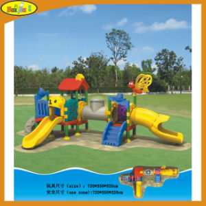 2015 Children Hot Sale Outdoor Plastic Playground for Park