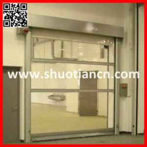 Motorized Cleanroom Fast Speed Rolling up Door (ST-001) pictures & photos