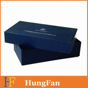 Blue Color Packaging Gift Box with Customized Logo pictures & photos