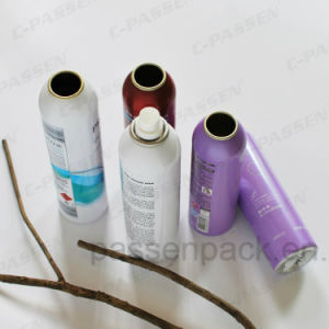 Aluminum Aerosol Can with Fine Mist Spray (PPC-AAC-025) pictures & photos