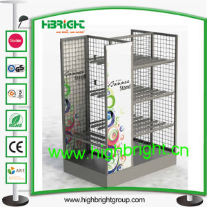Custom Wire Mesh Display Racks and Stands pictures & photos