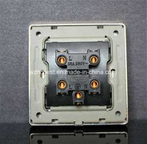 PC Material Water Heater 45A Electrical Wall Switch pictures & photos