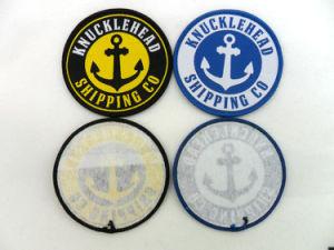 Custom Design Popular Anchor Badges Woven pictures & photos