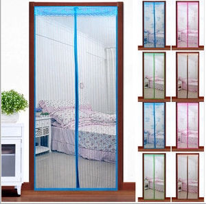Magnetic Soft Fly Screen Door/Colorful Magnetic Door Curtain