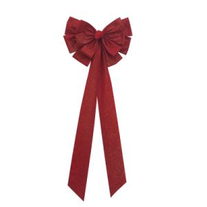 Red Velvet Christmas Bow Ties Supplier From China pictures & photos