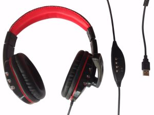 USB Headset Air Anti-Shock Microphone with Noise-Canceling Microphone pictures & photos