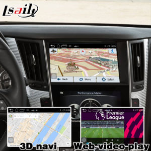 Android GPS Navigation System Box for Infiniti Q50 Video Interface pictures & photos