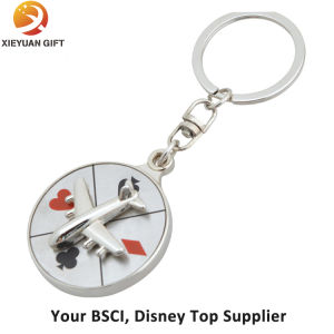 3D Engraved Mould Metal Keychain pictures & photos