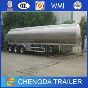 3axles 40000litres Aluminum Alloy Fuel Transport Tank Trailer pictures & photos
