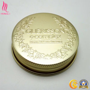 Cosmetic Aluminum Cover with Customized Logo pictures & photos