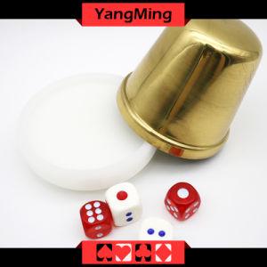 Unique Design Acrylic Dealer Button Plate Si Bo Poker Table Games Accessories (YM-DI01) pictures & photos