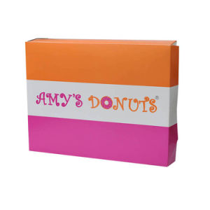Factory Cheap Price Custom Printed Folded Food Paper Box pictures & photos