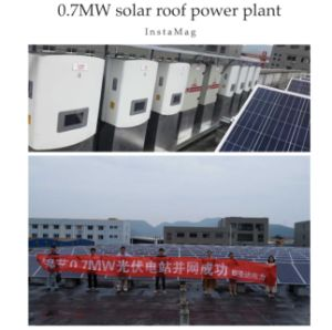 70W Black Solar Panel with High Efficiency pictures & photos