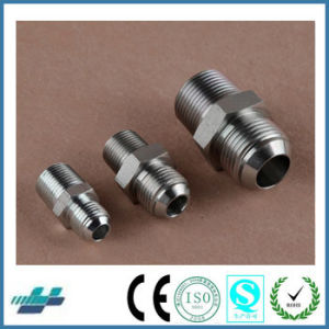 Swagelok Type Compression Jic Male Cone Flared Connector Tube Fittings pictures & photos