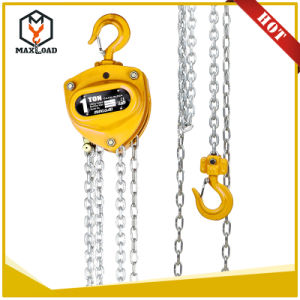 5 Ton Manual Hoist Chain Hoist Chain Block (VD-05T) pictures & photos
