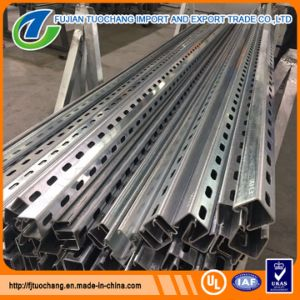 UL Standard Strut Channel Slotted Pre Galvanized Struts pictures & photos