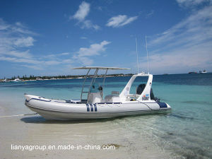Liya 6.2m Inflatable Dinghy Hypalon Hull Semi-Rigid Inflatable Boat pictures & photos