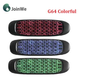 Remote Control G64 Colorful Backlit Keyboads pictures & photos