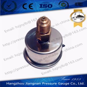 40mm 1.5′′ Back Connection Stainless Steel Oil Pressure Gauge Filled with Glycerin pictures & photos