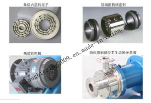 Single Stage Inline High Shear Mixer pictures & photos