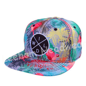 New Circle Embroidery Patch Snapback Hats pictures & photos