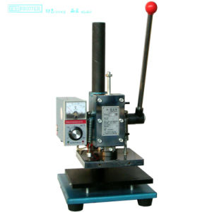 Tam-170 Manual Hot Foil Stamping Machine with Letter Paper Mould pictures & photos