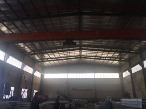 Prefabricated Construction Design Steel Structure Warehouse (FLM-038) pictures & photos