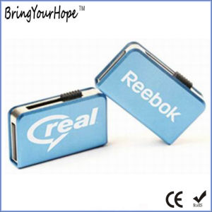 Metal Slip Book USB Drive with Black Colloid UDP (XH-USB-181) pictures & photos