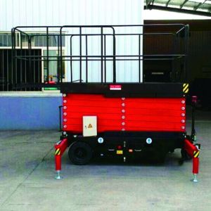 Semi Electric Self Propelled Scissor Lift (Max Height 9m) pictures & photos