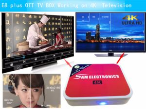 Qcta-Core E8 Plus IPTV Box with Android 6.0 2+8GB Smart TV Box with Dual WiFi H. 265, 4K*2K Video pictures & photos