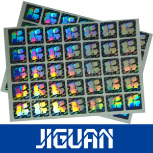 Roll Rainbow Adhesive Hologram Label Sticker pictures & photos