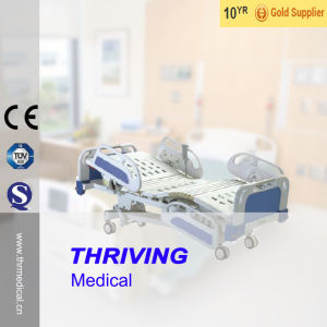 Five-Function Electric Sickroom Nursing Bed pictures & photos
