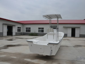 5.8m Fiberglass Water Taxi for Sale Fiberlgass Fishing Boat Panga Boat pictures & photos